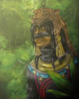Tezcatlipoca by Horselandiceage