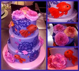Kissyfish Cake by Er-ca