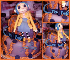 Coraline Doll Cake by Er-ca