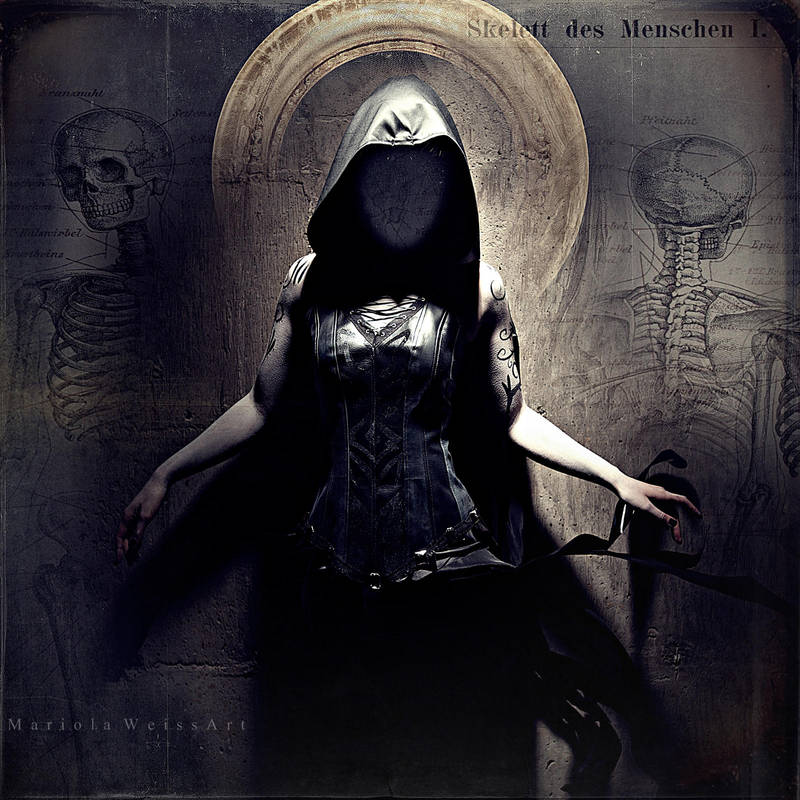 the morgue of saints by MWeiss-Art