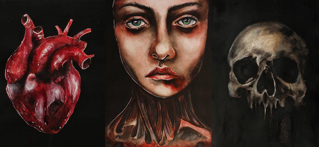 Mweiss..anatomical Seriess by MWeiss-Art