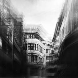 city in monochrome.. by MWeiss-Art