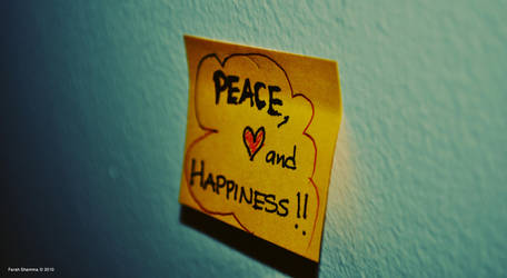Peace, Love and Happiness by Dudette-36
