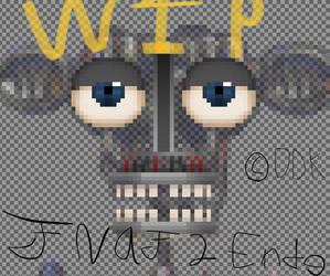Pixel Art Fnaf 2 Endoskeleton WIP by DemDarnKatz