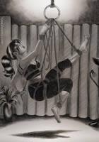 Self Bondage suspension by Coaxdreams
