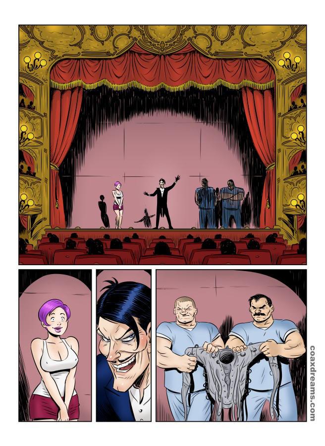 Escapology show page 1 by Coaxdreams