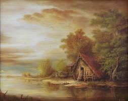 Dan Scurtu - River Scene 2 by DanScurtu