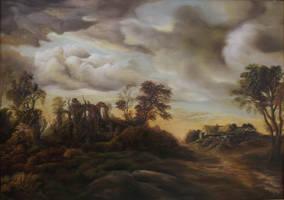 Dan Scurtu - Sunset Scene by DanScurtu