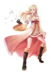 Magician Girl by NevoAngelo-Arm
