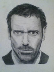 Hugh Laurie by AidanHawkins