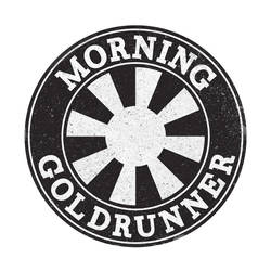 Morning Goldrunner Logo by jstropes