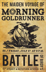 Morning Goldrunner Premier Poster by jstropes