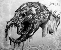 Deadspace stalker by VegetaFan79