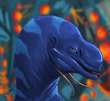 Northern Gapuri speed paint by exo-bio