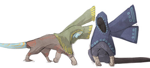 Gapuri doodles by exo-bio
