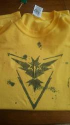 Team Instinct Shirt by Zkombe