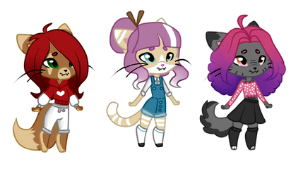 Cat Adopts by PuffyDawn