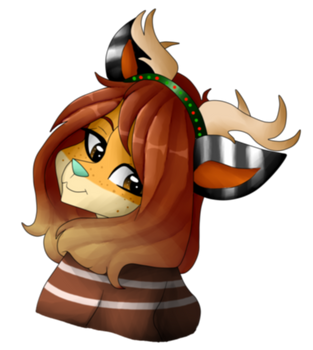 Katie [Christmas Gift] by PuffyDawn