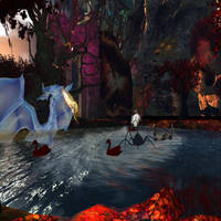 Dragon Waters IW Fright Fest by BevAnnieEnchanted