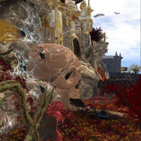 SpiderSkull Mountain IW Fright Fest by BevAnnieEnchanted
