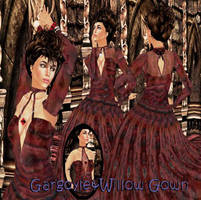 GargoyleWillow Gown by BevAnnieEnchanted