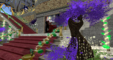 Grand Ballroom Entrance by BevAnnieEnchanted
