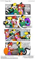 Vicki Fox guest strip by LittleTiger488