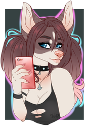 [COMM] Pretty babe by EiKaArts