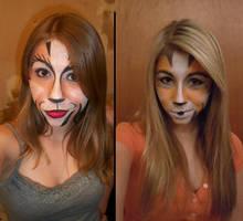 Cats Makeup: Oakar Comparison by Kisskiss64