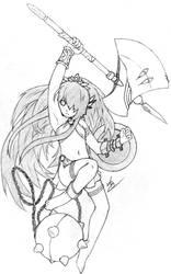 Battle Maiden Cybele by zbo3190