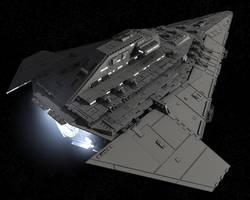 Imperial Escort Cruiser by JBJHJM