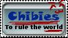 Chibi World Domination Stamp by Spirogs