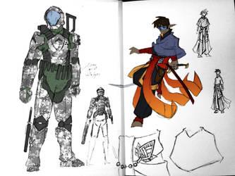 Terran Concept Sketch by Spirogs