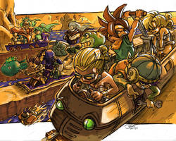 Chrono Racerball Z by dchan316