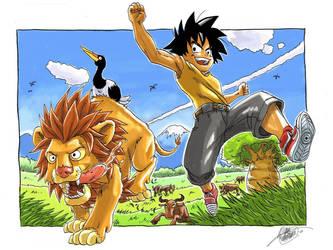 Savanna Run for Captain-Sora by dchan316