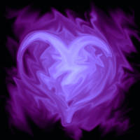 purple heart by puddeloftears