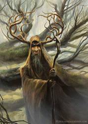 Kupuka, warlock ranger by gonzalokenny