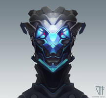 Series Alien Robots Mirror 1 by juannahuel