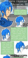 Hair Coloring Tutorial [Paint Tool SAI] by jellification