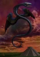 quetzalcoatl by the-surreal-arts