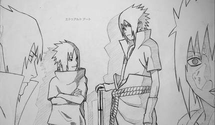 Sasuke Uchiha by adhoedwardo