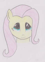 Smile Fluttershy by helzg