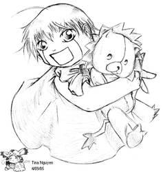 Zatch and Kon by kunoichi069