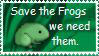 Save the frogs by Wrathion9