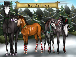Holiday Greetings From The Orthos by Leigh-Fleur