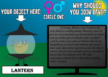 BFVI Application - Lantern by KirbyRider1337