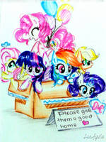 A Box Of Ponies by LiaAqila