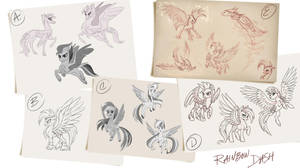 Mlp G5 Leaks Mane 6 Design Concept By Liaaqila On Deviantart