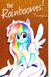 The Rainbooms Comic Cover by LiaAqila