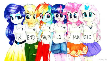 FRIENDSHIP IS MAGIC by LiaAqila